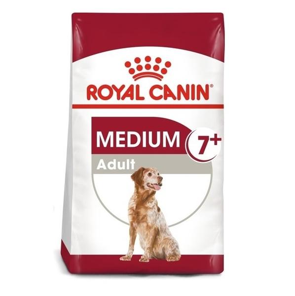 ◆MIX米克斯◆法國皇家狗飼料,SM+7中型熟齡犬-4kg,中型老犬,小包飼料
