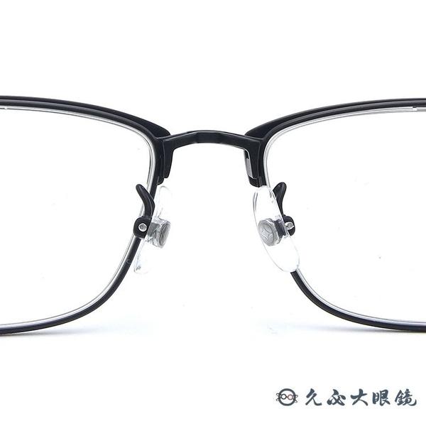 999.9 日本神級眼鏡 S-161T 10 (霧黑) 復古方框 近視眼鏡 久必大眼鏡