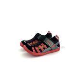 中童 日本 IFME 透氣 魔鬼氈 排水孔 輕量 機能 水涼鞋《7+1童鞋》C406 黑色
