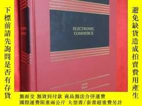 二手書博民逛書店Electronic罕見Commerce, Fourth Edi
