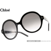 Chloe 太陽眼鏡 CL629S 003 (黑) 法式經典復古圓框 墨鏡 # 金橘眼鏡