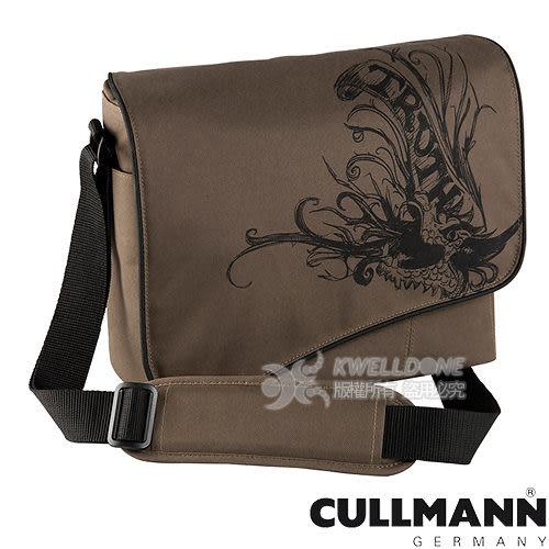 【CULLMANN】馬德里花樣郵差包Maxima330(灰棕色)