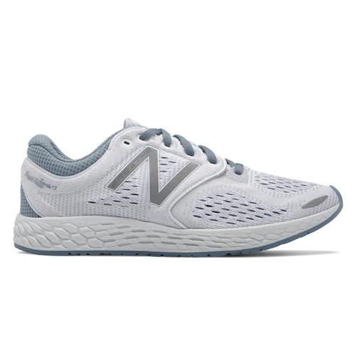 NEW BALANCE 女鞋 慢跑 訓練 緩震 輕量 網布 透氣 灰 白 銀 【運動世界】 WZANTHW3