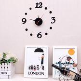 時尚掛鐘現代簡約客廳家用臥室石英時鐘掛錶個性數字鐘錶    琉璃美衣