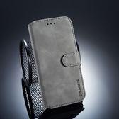 華為 nova 3e 復古皮套 翻蓋手機殼 磁扣錢包款皮套 插卡防摔保護套 支架保護殼 附掛繩 nova3e