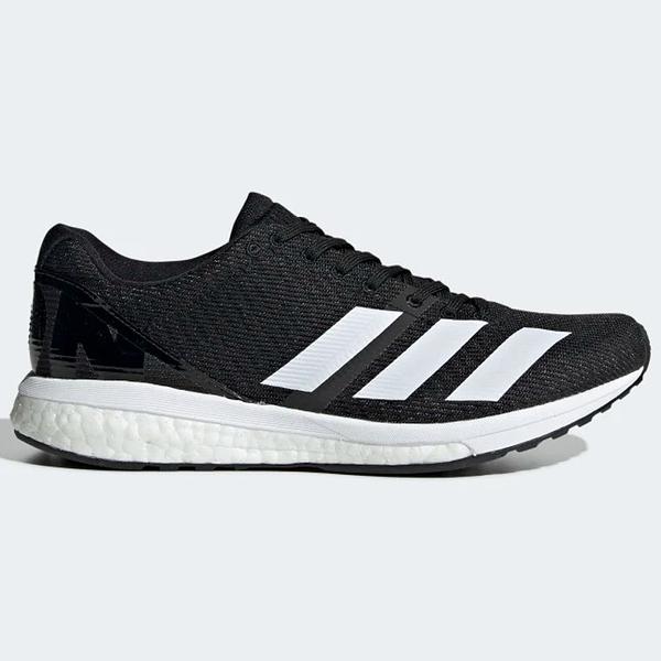 Adidas ADIZERO BOSTON 8 女鞋 慢跑 休閒 BOOST 避震 黑 白 【運動世界】G28879