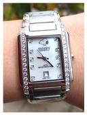 【卡漫城】 六折出清 史奴比 手錶 水鑽 日期功能 中 ㊣版 不鏽鋼 史努比 女錶 卡通錶 Snoopy