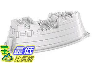[105美國直購] Nordic Ware 59224 船型蛋糕模具 烤盤 Pro Cast Pirate Ship Cake Pan
