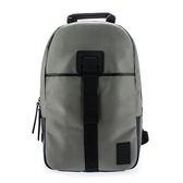 Calvin Klein CK 素面尼龍休閒旅遊後背包/電腦包/旅行包/休閒包/雙肩包(灰色)103327-1