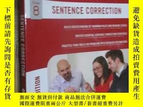 二手書博民逛書店GMAT罕見Sentence Correction(6th Edition) 大16開Y5460 Manhat
