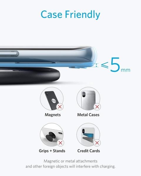 [2美國直購] Anker 無線充電器 Wireless Charger, PowerWave Pad, Compatible iPhone AK-A2503011