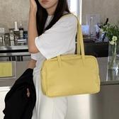 手提包 包包女2020新款韓國學院風側背ins超火大容量百搭腋下手提休閒包 裝飾界