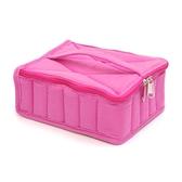 精油收納包 30格通用精油包收納包防震包化妝包口紅包紫粉黑色適用5ml-15ml 快速出貨