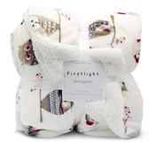 毛毯蓋毯小被子加厚冬季法蘭絨辦公室珊瑚絨毯127*178CM   SMY9131【男人與流行】
