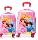 兒童行李箱 冰雪奇緣行李箱 兒童拉桿箱 白雪公主 18寸 四公主款  特價【藍星居家】