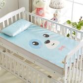 嬰兒涼席夏季透氣夏季兒童涼席冰絲墊子幼兒園寶寶涼席新生嬰兒床 aj4843『毛菇小象』