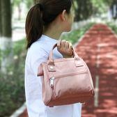 新款SUN日本樂天小包多功能手提包休閒女式小挎包防水簡約媽媽包
