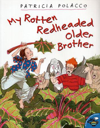 【麥克書店】『小熊媽的經典英語繪本』MY ROTTEN REDHEAD OLD BROTHER /英文繪本