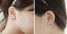 耳環 現貨 韓國 氣質 珍珠 點點 不對...