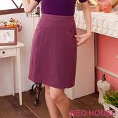 【RED HOUSE-蕾赫斯】-休閒合身窄裙
