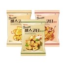 韓國 LOTTE 樂天 麵包餅 70g 大蒜/披薩/洋蔥【BG Shop】3款可選