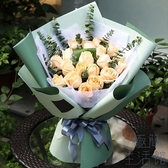 20張 雙色歐雅紙羅蘭鮮花包裝紙防水花束包裝紙包花紙【極簡生活】