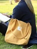 帆布袋帆布包女單肩學生原宿慵懶風購物袋新款