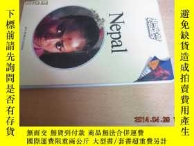 二手書博民逛書店罕見NEPAL(尼泊爾,英16開文原版,1988年,品好)Y10