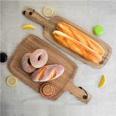 春季上新 實木牛排面包盤家用展示面包板托盤木盤子式歐式披薩板木托盤