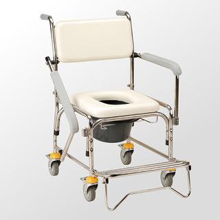 均佳 不銹鋼拆手型洗澡椅/便器椅 JCS-305