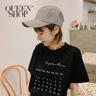 Queen Shop【07020522】格紋棒球帽*現+預*