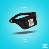 IMPACT Adidas Atric Bum Bag 黑 橘 腰包 斜背包 斜肩包 隨身包 街頭 DH3261