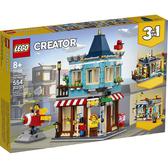 LEGO樂高 Creator 創意大師系列 排屋玩具店_LG31105