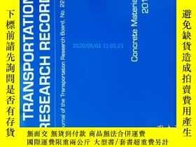 二手書博民逛書店Transportation罕見Research Record (TRR TRB ) NO.2290 2012 運