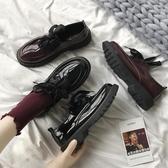皮鞋 小皮鞋女英倫平底單鞋女夏款日繫jk韓版百搭夏天黑色lolita鞋交換禮物