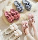 棉鞋 棉拖鞋女冬季家用可愛包跟居家室內保暖春季毛絨厚底兒童棉鞋男【快速出貨八折下殺】
