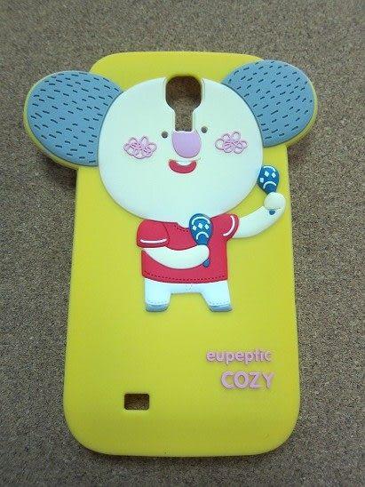 【世明國際】NG出清 買一送一 三星 S4/ i9500 韓國森林家族 三代 果凍套 手機套 立體卡通軟殼