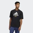 adidas Taipei Shirts 黑 金 男款 短T 城市 台北 短袖 運動休閒 印花 舒適 棉質 GJ0293