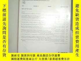 二手書博民逛書店IEEE罕見ANTENNAS AND WIRELESS PROP