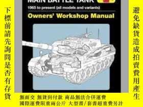 二手書博民逛書店Leopard罕見1 main battle tank (slight damage)-豹1主戰坦克(輕微傷害)奇