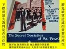 二手書博民逛書店THE罕見SECRET SOCIETIES OF ST. FRANK,S THE DEATH OF WALTER