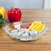 鋼化玻璃烘焙餐盤適用烤箱微波爐盤子PLL4362【男人與流行】