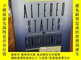 二手書博民逛書店Altered罕見states of consciousness