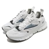 Reebok 慢跑鞋 ZIG Kinetica Horizon 白 灰 男鞋 透氣 緩震 運動鞋【PUMP306】 FW5302