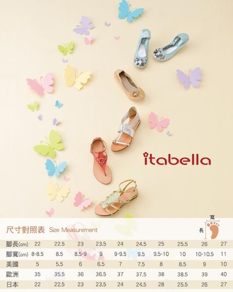 itabella.樂活休閒 質感素面牛皮休閒鞋(9213-10白色)