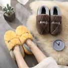 棉鞋 男士棉拖鞋包跟春季室內保暖厚底防滑家居家用毛拖鞋男冬天棉鞋【快速出貨八折下殺】