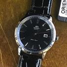 【萬年鐘錶】ORIENT 東方 DATE 系列  日本機芯 日期顯示功能 機械錶 皮帶款 WJFER27001B
