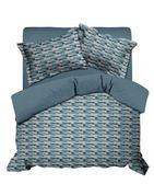 藍彩時光床包兩用被組加大