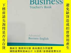二手書博民逛書店Intelligent罕見Business Advanced T