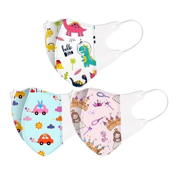 【3期零利率】全新 RM-C109 一次性防護兒童3D立體口罩 大童款 50入/包 3層過濾 熔噴布 隔離汙染 透氣